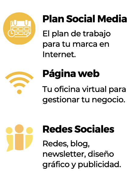 Pack Social Media emprendedores by CoCo